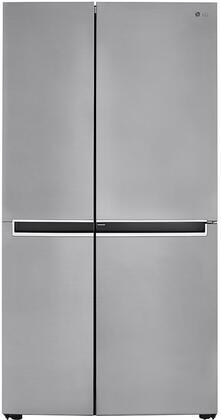 LG  LRSPS2706V Side-By-Side Refrigerator Silver, LRSPS2706V Side By Side Refrigerator