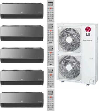LG 963500 5-Zone Mini Split Air Conditioner, Main Image