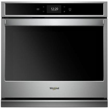 "WOS72EC0HS 30"" Smart Single Wall Oven with 5 cu. ft. Capacity True Convection Cooking Scan-to-Cook Technology Scan-to-Connect Technology Frozen"