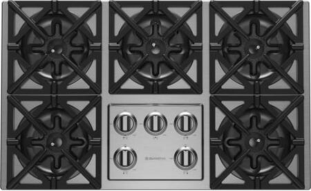 BlueStar  RBCT365BSSV2PLT Gas Cooktop Stainless Steel, Gas Cooktop