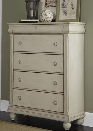 Liberty Furniture Rustic Traditions II 689BR41 Chest of Drawer White, Main Image