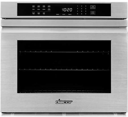Dacor Professional HWO130FS Single Wall Oven Stainless Steel, Front View