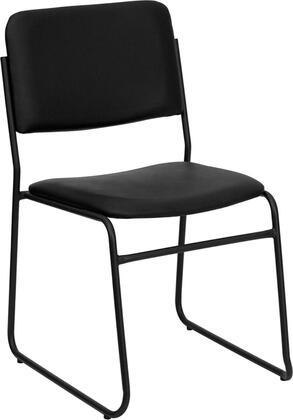 Flash Furniture Hercules XU8700BLKBVYL30GG Office Chair Black, Main Image