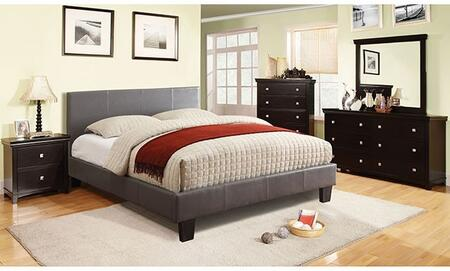 Furniture of America Winn Park CM7008GYKBDMCN Bedroom Set Gray, Main Image