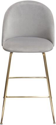 LILLYBCGR2PK_Lilly_Set_of_(2)_Bar_Height_Chairs_in_Grey_Velvet_with_Brushed_Gold_Metal