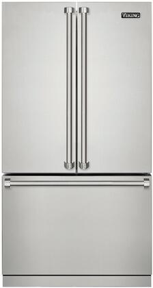 Viking 3 Series RVRF3361SS French Door Refrigerator Stainless Steel, Main Image