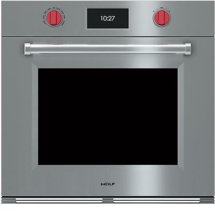 Wolf M Series SO30PMSPH Single Wall Oven Stainless Steel, Main Image