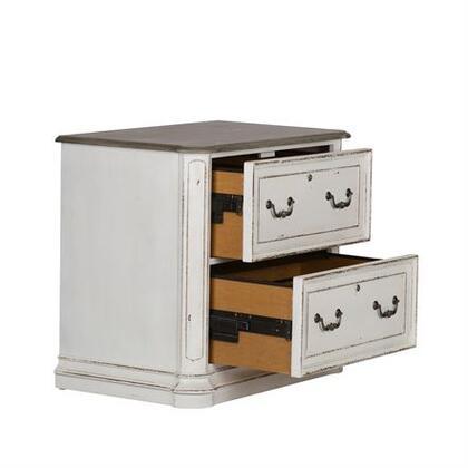 Liberty Furniture Magnolia Manor 244HO146 File Cabinet White, Main view