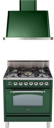 Ilve  1311519 Kitchen Appliance Package Green, Main Image