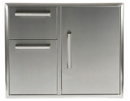 Coyote CCD2DC31 Storage Drawer Stainless Steel, Combo Door and Drawer