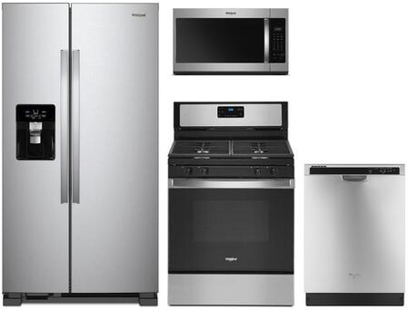 Whirlpool 1125663 Kitchen Appliance Package & Bundle Stainless Steel, main image
