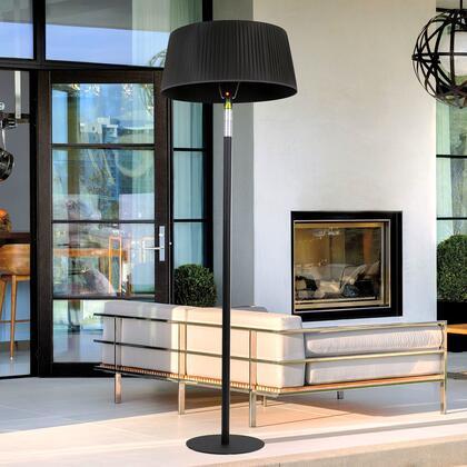 Lava Heat Shade EL7ERB Outdoor Patio Heater Black, Main Image