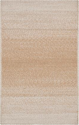 Aileen AIE-1003 5′ x 7'6″ Rectangle Cottage Rugs in Wheat