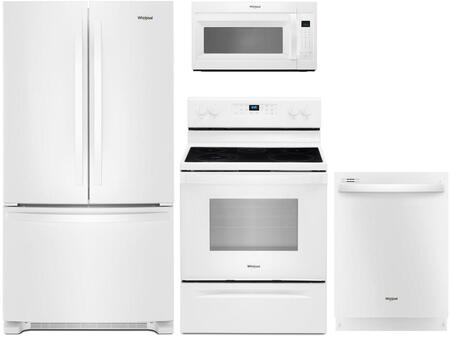 Whirlpool 1125682 Kitchen Appliance Package & Bundle White, main image