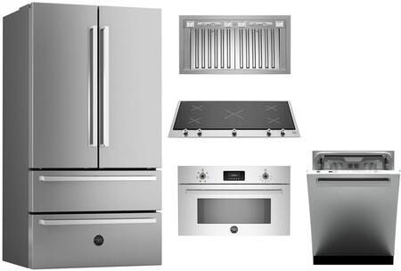 Bertazzoni 1054850 Kitchen Appliance Package & Bundle Stainless Steel, main image