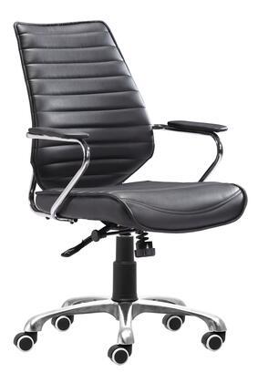 Zuo Enterprise 205164 Office Chair Black, 205164 1