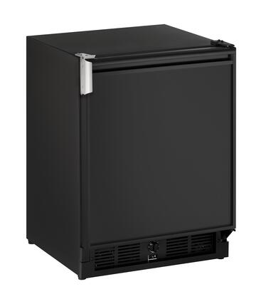 """U-CO29FB-00A 21"""" Combo Refrigerator and Ice Maker with 8 lbs. Daily Ice Production 2.1 cu. ft. Fridge Capacity Two Removable Tempered Glass Shelves"""