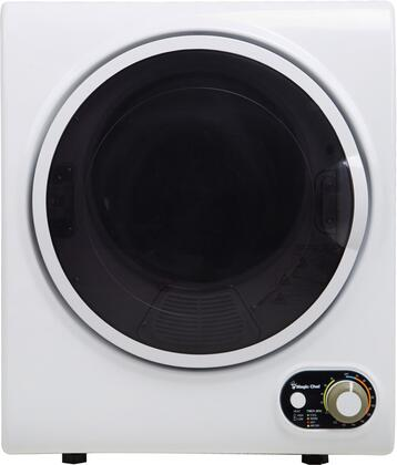 Magic Chef MCSDRY15W Electric Dryer White, Main Image