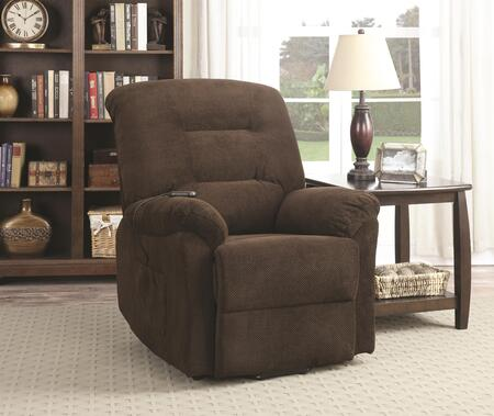 Coaster Recliners 600397 Recliner Chair Brown, 1