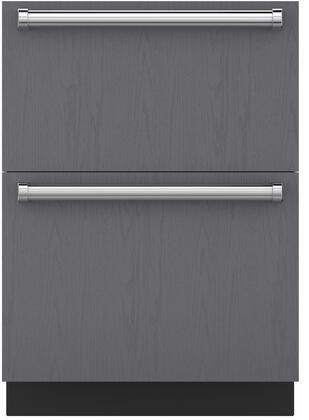 Sub-Zero  ID24FI Drawer Freezer Panel Ready, Main Image