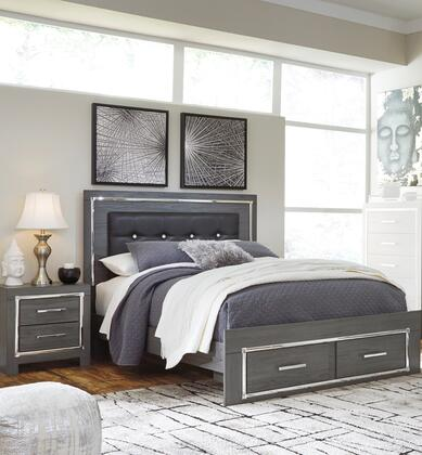 Signature Design by Ashley Lodanna B214QSBBEDROOMSET Bedroom Set Gray, B214QSBBEDROOMSET Main View
