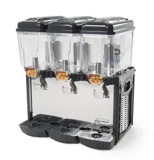 CD3J 220 Commercial Juice Dispenser 3 Tanks of 12 L (3 x 3 gal)