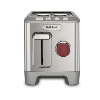 Wolf WGTR102S Toaster Stainless Steel, Main Image