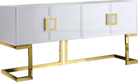 Meridian Beth 306 Dining Room Buffet White, 306 Main Image