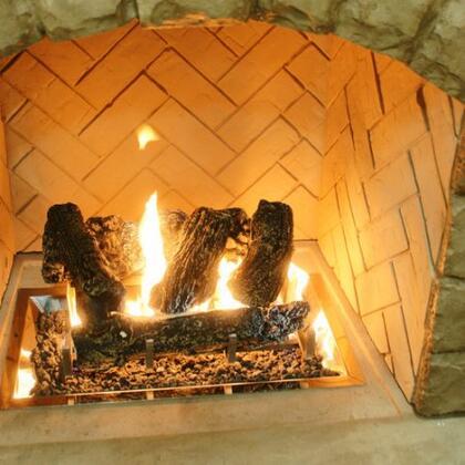 Outdoor GreatRoom  CF1224LOGSETK Outdoor Fireplace Brown, Main Image