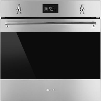 Smeg Classic SFU6302TVX Single Wall Oven Stainless Steel, SFU6302TVX Classic Multifunction Oven