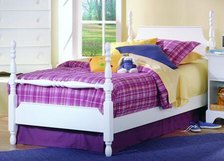 Carolina Furniture Carolina Cottage 4172303419300 Bed White, Main Image