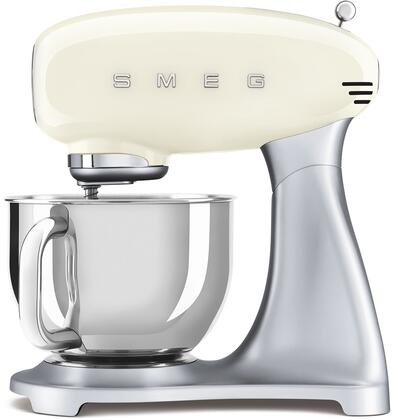 SMF02CRUS 16″ 50's Retro Style Aesthetic Stand Mixer with Stainless Steel Bowl  Lever Control and 600 Watts Motor in