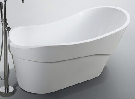Bellaterra Home Bari BA6523 Bath Tub White, Main Image