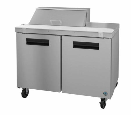 Hoshizaki Steelheart SR48A Prep Refrigerator Stainless Steel, 1