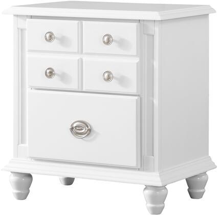 Glory Furniture Summit G5975N Nightstand White, G5975N Main Image