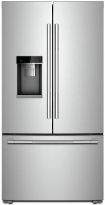 Jenn-Air RISE JFFCC72EHL French Door Refrigerator Stainless Steel, JFFCC72EHL 72-Inch Counter-Depth French Door Refrigerator with Obsidian Interior