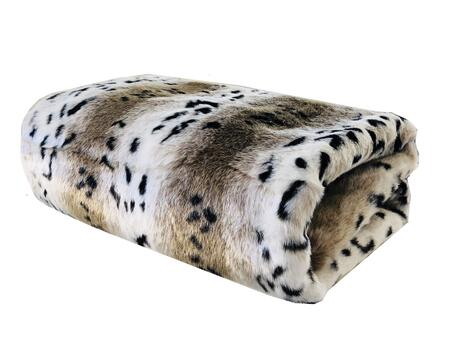 Plutus Brands Snow Lynx PBEZ1666114X120 Sofa Accessory, PBEZ1666