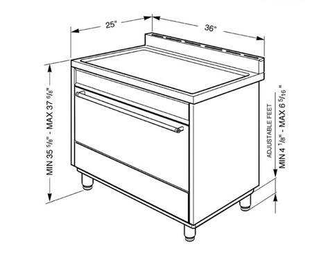 Smeg  C36GG Freestanding Gas Range , Diagram