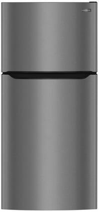 Frigidaire  FFTR2045VD Top Freezer Refrigerator Black Stainless Steel, FFTR2045VD Top Freezer Refrigerator