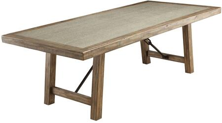 Furniture Of America Colette Dining Table Cm3562t Rustic Oak Appliances Connection