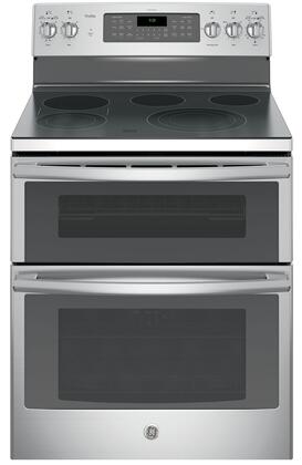 GE Profile PB980SJSS Freestanding Electric Range Stainless Steel, Main View