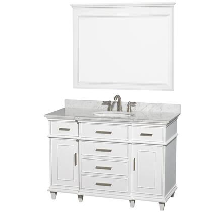 Wyndham Collection  WCV171748SWHCMUNRM44 Sink Vanity White, image 1