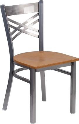 Flash Furniture Hercules XU6FOBCLRNATWGG Dining Room Chair Brown, 1