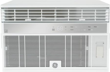GE  AHY08LZ Window and Wall Air Conditioner White, Front View