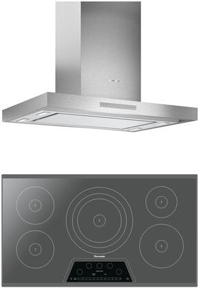 Thermador  1071282 Kitchen Appliance Package Stainless Steel, main image