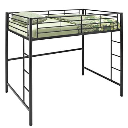Walker Edison  BDOLBL Bed Black, Main Image