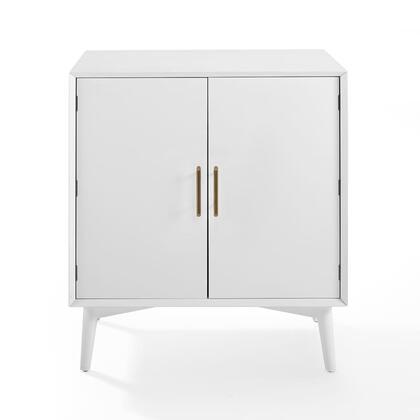 Crosley Furniture Landon CF4403WH Bar White, CF4403 WH W1