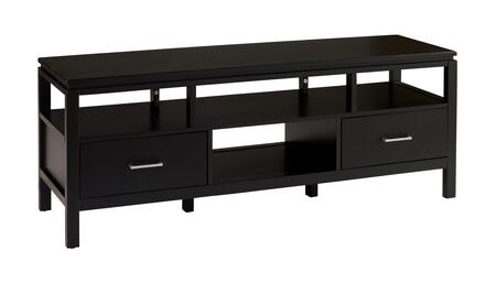 Linon Sutton 84026BLK01KDU 52 in. and Up TV Stand , 84026BLK 01 KD U Silo