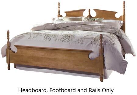 Carolina Furniture Common Sense 1578503971500 Bed Brown, main image 72813