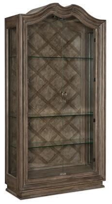 Hooker Furniture Woodlands 58207590684 Curio Cabinet, Silo Image